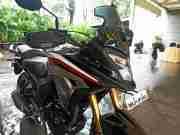 Honda CB200X Black front faring