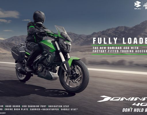 New Dominar 400 launched with touring accessories